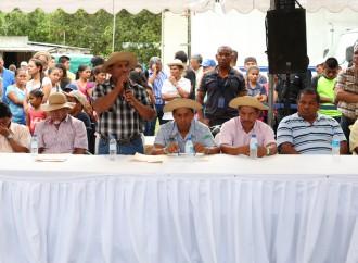 Gabinete Sectorial para impulsar producción agropecuaria en el distrito de Capira