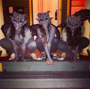 Disfraz 8.- Halloween de Gargolas