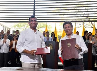 Colombia y Ecuador fijan 90 metas para cumplir en el 2016