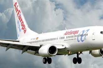 Air Europa une a Panamá y España con cuatro vuelos al mes