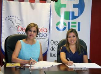 Defensoría del Pueblo y Organización de Estados Iberoamericanos suscriben convenio para promover Derechos Humanos