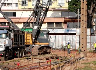 Obra de estacionamiento soterrado en La Exposición es supervisada entre la Alcaldía y el MEF