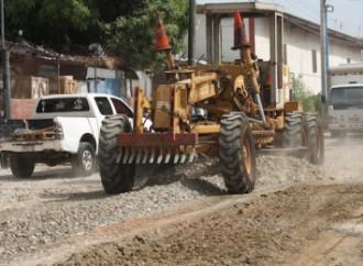 """El MOP inició mejoramiento de la calle """"Las Mareas"""" en Llano Bonito"""