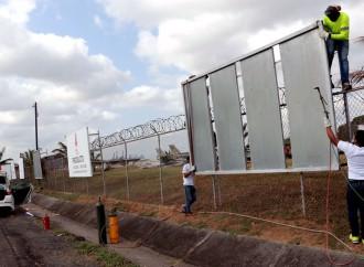 96 vallas publicitarias ilegales en Albrook serán demolidas
