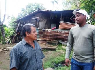 MIVIOT atiende comunidad afectada por fuertes vientos en Chiriquí