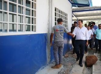 Presidente Varela inspecciona trabajos de mantenimiento del Programa Mi Escuela Primero en Panamá Oeste