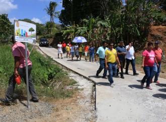 Comunidades de Panamá Norte cuentan con nuevos espacios peatonales y de vialidad