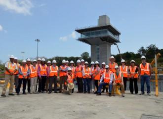 Instituciones multilaterales realizan visita al Canal Ampliado