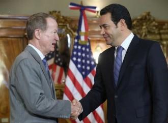 Guatemala y Estados Unidos estrechan colaboración en temas de interés mutuo en lucha contra la corrupción, pobreza y narcotráfico