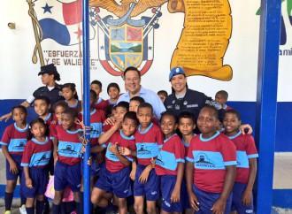 Presidente Juan Carlos Varela da inicio al programa Horizontes desde la Esc. Arnulfo Arias en San Miguelito