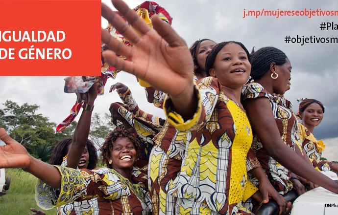 ODS 5: Alcanzar la igualdad de género y empoderamiento de todas las mujeres y niñas
