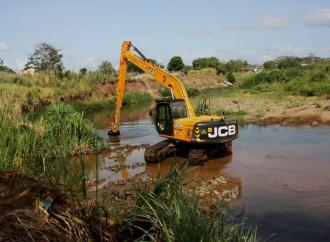 Realizan trabajos en el Río Juan Díaz para minimizar inundaciones