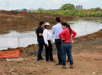 Alcaldía de Panamá y MOP articulan para minimizar impacto de las lluvias en áreas vulnerables de Juan Díaz