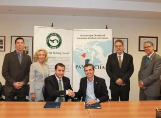 AmCham Panama y el Panama Green Building Council firman convenio de colaboración