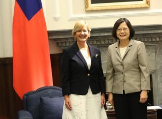 Presidenta de China (Taiwán) expresa interés de fortalecer las relaciones diplomáticas y de cooperación con Panamá