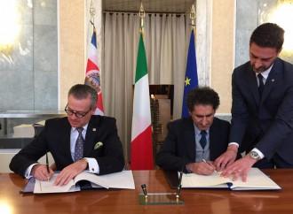 Costa Rica e Italia suscriben acuerdo en materia tributaria