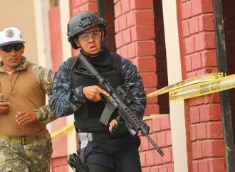 """Unidades de la Policía Nacional presentes en la competencia """"Fuerza Comando 2016"""" en Perú"""