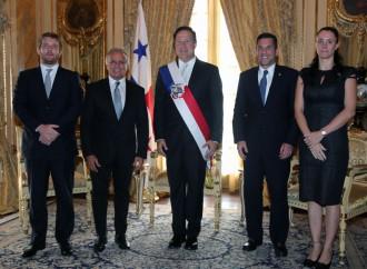 Presidente Juan Carlos Varela recibe cartas credenciales de embajadores de 5 paises
