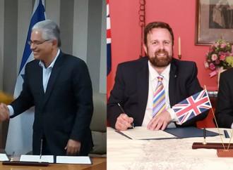 Ciudad de Panamá suscribe convenios con Liverpool y Netanya para fortalecer relaciones bilaterales