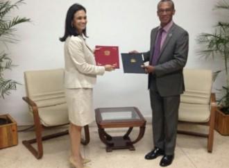 Panamá y Trinidad & Tobago suscriben convenio para fortalecer relaciones económicas y comerciales