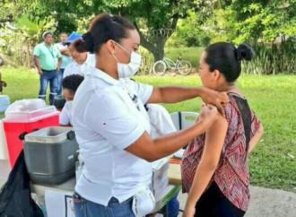 Hoy hasta la 1pm estará la jornada de vacunación contra el AH1N1 en el Parque Omar