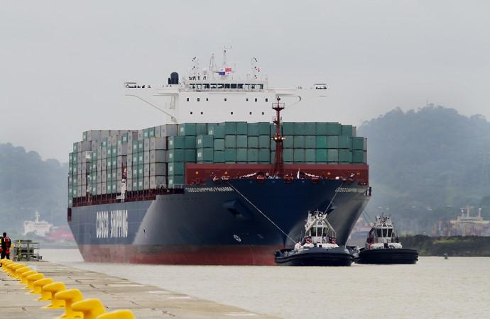 Canal de Panamá ofrece 7 cupos diarios de reserva para buques neopanamax