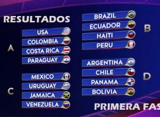 COPA AMÉRICA 2016: Así van los resultados de la Primera Fase