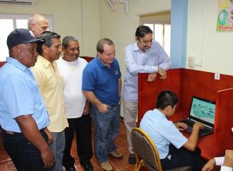 Infoplaza de Coclesito beneficia a más de 1,100 habitantes de la provincia de Coclón