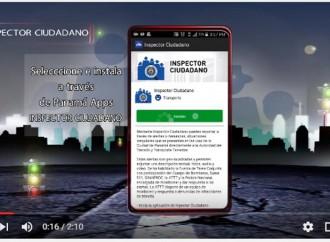 ¿Aún sin descargar la App Inspector Ciudadano? Mira el vídeo y ponte en sintonía con la ATTT