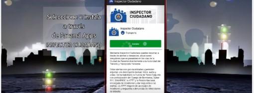 En vigencia nuevas denuncias de infracciones en la APP Inspector Ciudadano de la ATTT