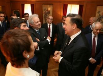 Presidente Varela invita a transnacionales italianas a invertir en el nuevo Panamá de transparencia y respeto a la ley