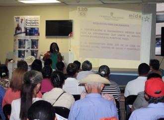 Adultos Mayores se preparan para cobrar a través de la tarjeta Clave Social del Banco Nacional