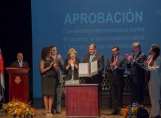 Costa Rica es el primer país de América y el Caribe en aprobar Convención Interamericana contra el racismo