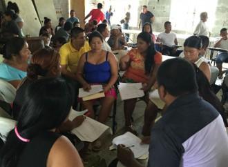 Comunidad de Piriatí Emberá participa en Taller para priorizar sus requerimientos