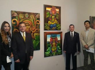 """Embajada de Honduras en Brasil  participa en Exposición """"Horizontes del Arte en América Latina y el Caribe"""""""