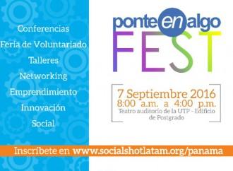 Ponte en Algo Fest: Feria que promueve el Voluntariado en Panamá