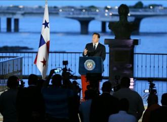 Varela: Hoy Panamá cambió y la lucha por la transparencia es permanente