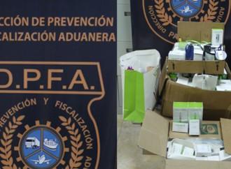 Aduanas decomisa lote de Cigarrillos Electrónicos en empresa ubicada en Marbella
