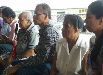 Comunidades de Quebrada Bonita y Nueva Esperanza reciben del CONADES materiales de construcción