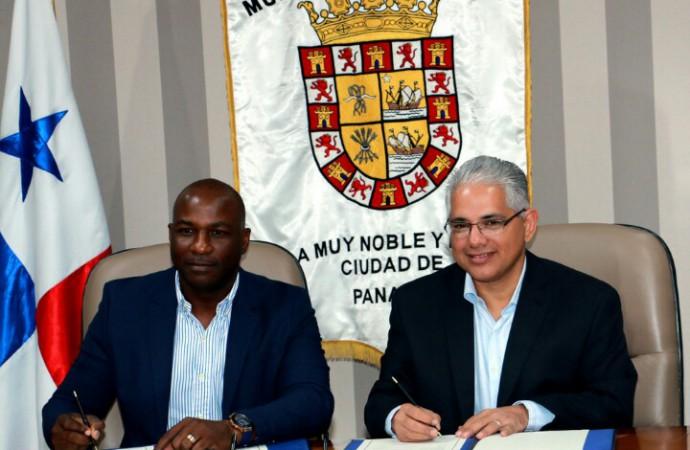Alcaldes de la Ciudad de Panamá y San Miguelito suscriben convenio de cooperación