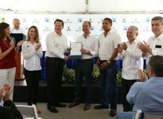 Presidente Varela inicia mejoras de los sistemas de alcantarillados de Punta Paitilla y Punta Pacífica