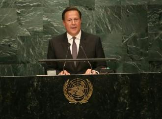 Varela destacó ante pleno de Asamblea General de NU los avances de Panamá en el cumplimiento de los Objetivos de Desarrollo Sostenible