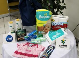 Procter & Gamble mejora las condiciones sociales donando productos de higiene