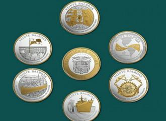 MEF y BNP ponen en circulación 500 juegos de monedas conmemorativas del Canal