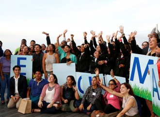 Jóvenes participaron en Foro sobre Cambio Climático
