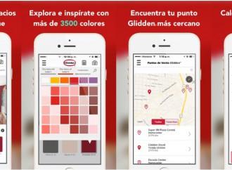 Glidden lanza App para renovar espacios y experimentar con el color