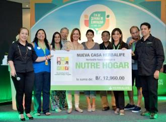 Herbalife dona más de $12 mil a Nutrehogar