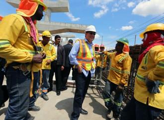 Presidente Varela supervisa avances de la Línea 2 del Metro