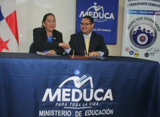 MEDUCA Y ATTT firman convenio de cooperación