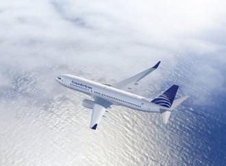 Copa Airlines brindó informacióndel vuelo CM358 que cubre la ruta Panamá – Guatemala